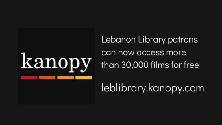 Lebanon Library patrons can now access more than 30,000 films for free