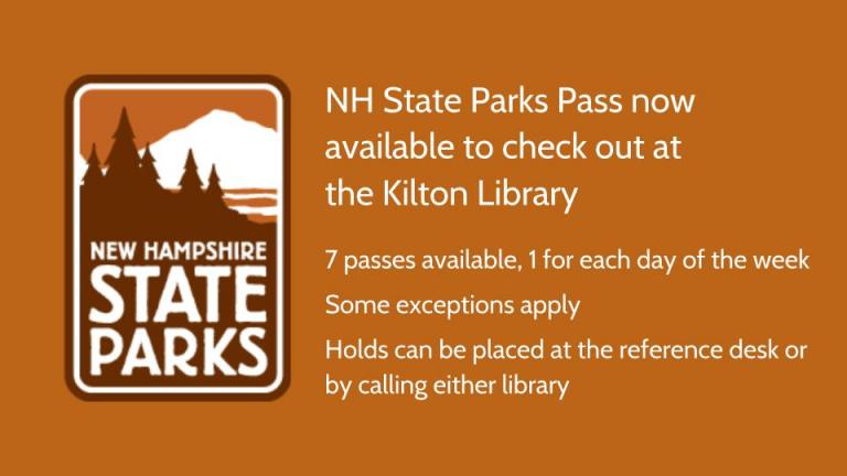 NH State Parks Pass Available to Patrons