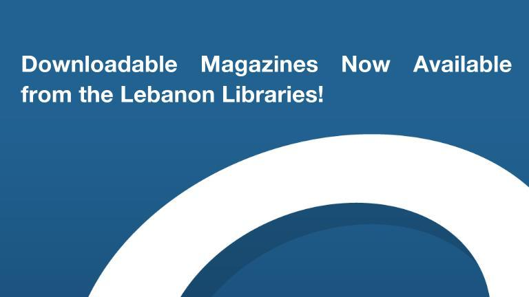 Downloadable Magazines Now Available through Overdrive!